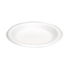 Genpak Round Foam Snack Plates 6