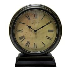 Infinity Instruments Dais Tabletop Clock Black