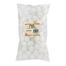 Hygloss Styrofoam Balls 1 White Pack