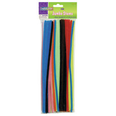 Chenille Kraft Jumbo Pipe Cleaners Assorted