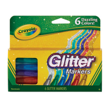 Crayola Glitter Markers Bullet Point Assorted