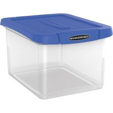 Bankers Box Heavy Duty Plastic Portable