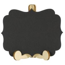 Amscan Mini Chalkboard Easels 3 H