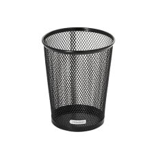 Rolodex Mesh Jumbo Pencil Cup Black
