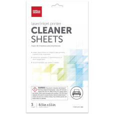 Office Depot nbspBrand PrinterCopierFax Cleaning Kit