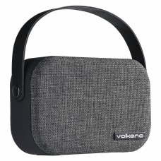 Volkano Fabric Series Bluetooth Speaker Dark