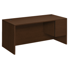 HON 10500 Series Right Pedestal Desk