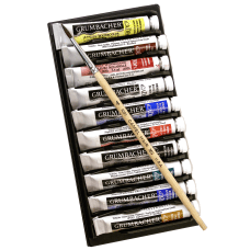 Grumbacher Academy Basic Tube Watercolor Set