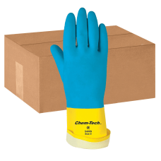 MCR Safety Chem Tech Latex Gloves