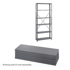 Safco 6 Shelf 36 W Industrial