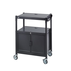 Safco Steel Adjustable AV Carts With