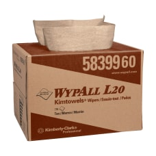 Wypall L20 Wipers Natural