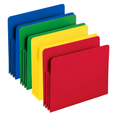 Smead Poly Expanding File Pockets 3
