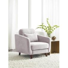 Serta Sierra Collection Arm Chair IvoryChestnut