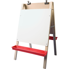 Flipside Dual Surface Preschool Easel White
