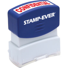 Stamp Ever Pre inked Confidential Stamp