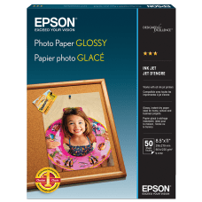 Epson Glossy Photo Paper Letter Size