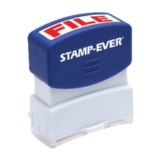 Stamp Ever Pre inked File Stamp