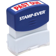 Stamp Ever Pre inked Past Due