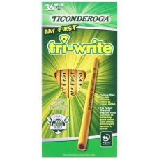 Ticonderoga Tri Write Beginners Pencils 2