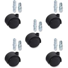 Lorell Premium Dual Soft Wheel Casters
