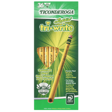 Ticonderoga Tri Write Triangular No 2