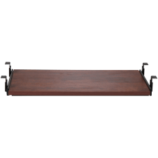 Lorell Laminate Universal Keyboard Tray Cherry