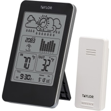Taylor 1733 IndoorOutdoor Digital Thermometer with