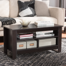 Baxton Studio Lilia Coffee Table Espresso