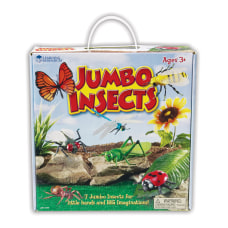 Learning Resources Jumbo Figures Insects Pack