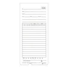 Acroprint ATR480 WeeklyBi WeeklyMonthly Time Cards