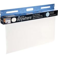 Quartet Anywhere Non Magnetic Dry Erase