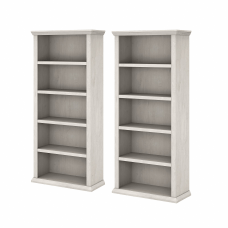 Bush Furniture Yorktown Tall 5 Shelf