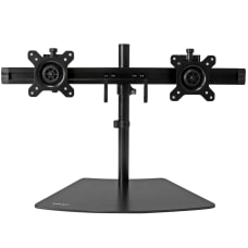 StarTechcom Dual Monitor Stand Crossbar Supports