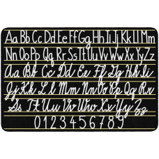 Flagship Carpets Handwriting Sampler Area Rug