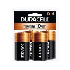 Duracell Coppertop Alkaline D Batteries Pack