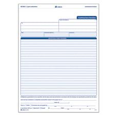 Adams Carbonless Contractors Invoices 3 Part