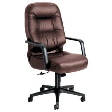 HON Pillow Soft Ergonomic Leather Executive