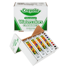 Crayola Educational Watercolors Classpack 36 Box