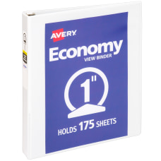 Avery Economy View 3 Ring Binder