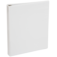 Just Basics View 3 Ring Binder