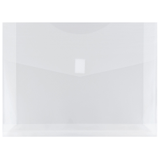 JAM Paper Plastic Booklet Expansion Envelopes
