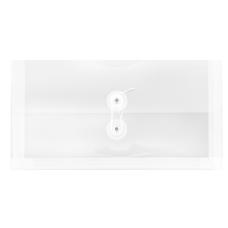 JAM Paper Booklet Plastic Envelopes 10