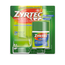 Zyrtec Allergy Relief Tablets Box of