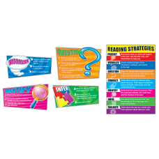 Carson Dellosa Education Reading Strategies Bulletin