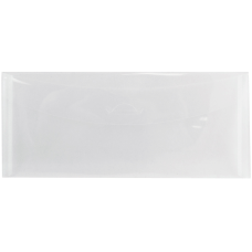 JAM Paper Plastic Business Envelopes With