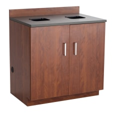 Safco Modular Hospitality Base Cabinet Waste