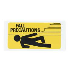 Medline Fall Precaution Labels 3 x