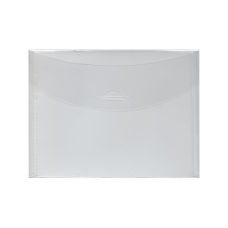 JAM Paper Plastic Envelopes 5 12
