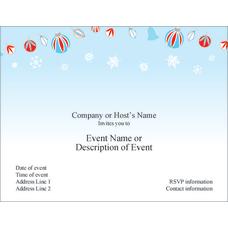 Custom Party Invitations 5 12 x